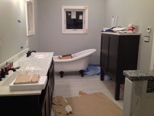 How To Secure Acrylic Clawfoot Tub To Floor