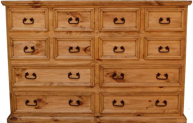 12-Drawer Mansion Dresser.