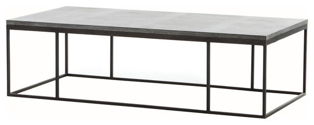 Hughes Harlow Small Coffee Table Industrial Coffee Tables By The Khazana Home Austin