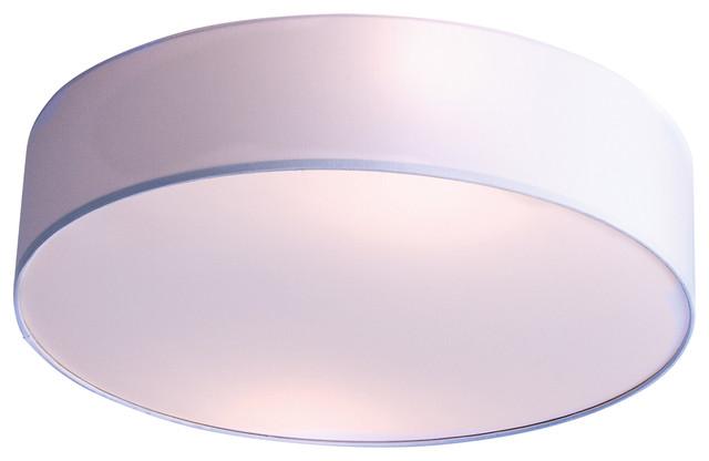 Lux Cambra Rondo Ceiling Lamp, White.