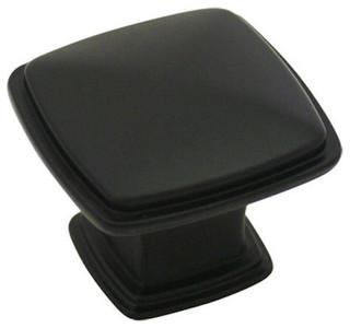 10 Pack Cosmas 4391BN Black Nickel Modern Cabinet Hardware Knob 1-1//4 Inch Square