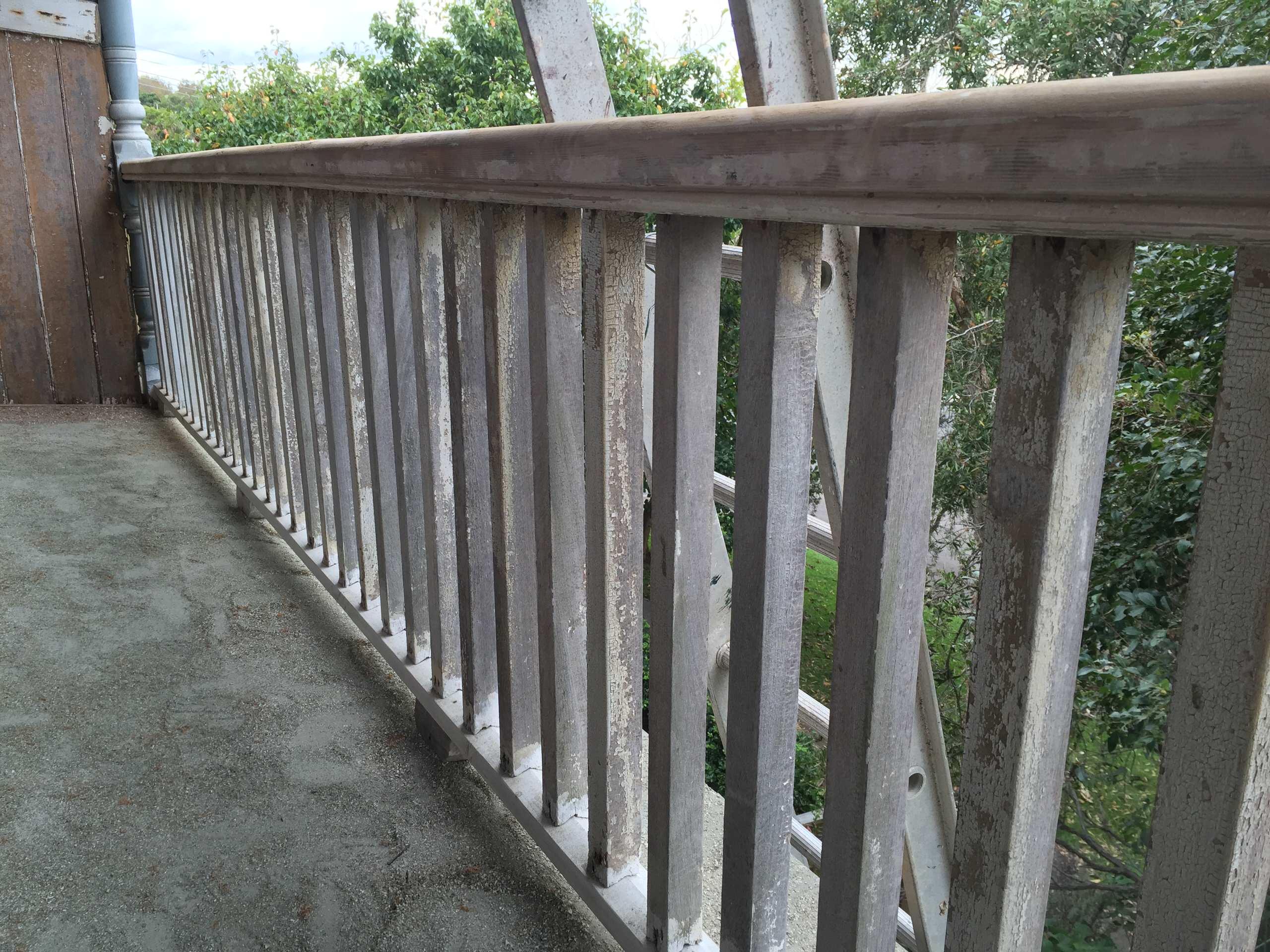Timber Restoration Veranda
