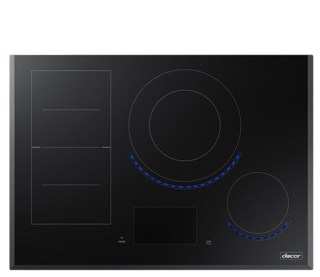 Dacor 30 Induction Smoothtop Cooktop, Black.