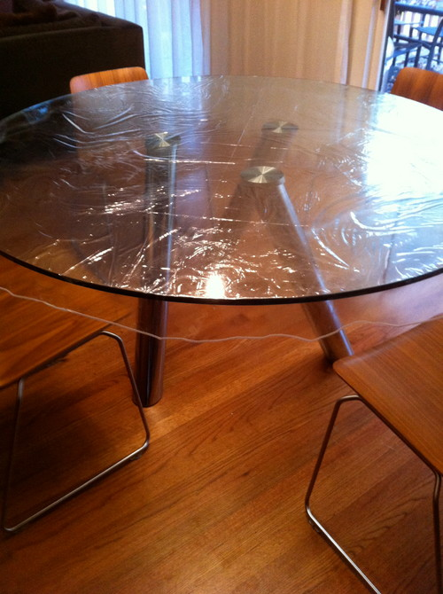 . Need help to protect my glass table