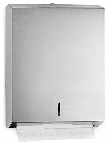 Alpine Stainless Steel C-Fold Paper Towel Dispenser.