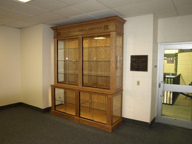 Drew University Trophy Case Traditional