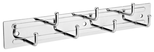 "12"" Static Belt Rack, Chrome."