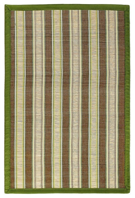 Bamboo Hamptons Area Rug Contemporary Area Rugs By