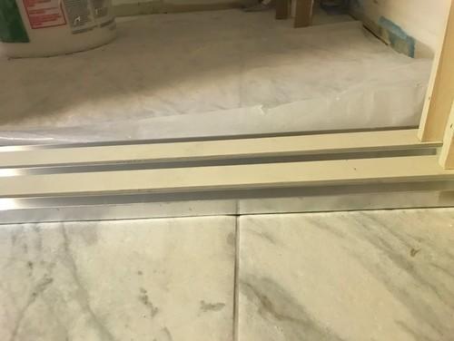 Triple Bypass Door Bottom Track