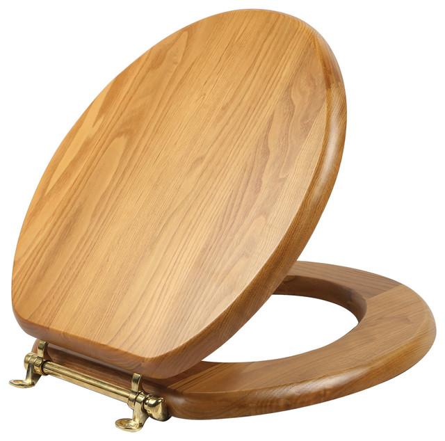 Dalton Round Toilet Seat Traditional Toilet Seats By Design House
