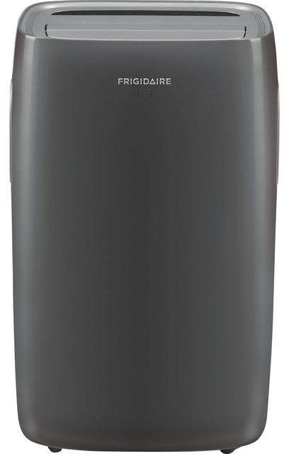 12,000 Btu Portable Air Conditioner With 4,100 Btu Heat Capability, Gray.