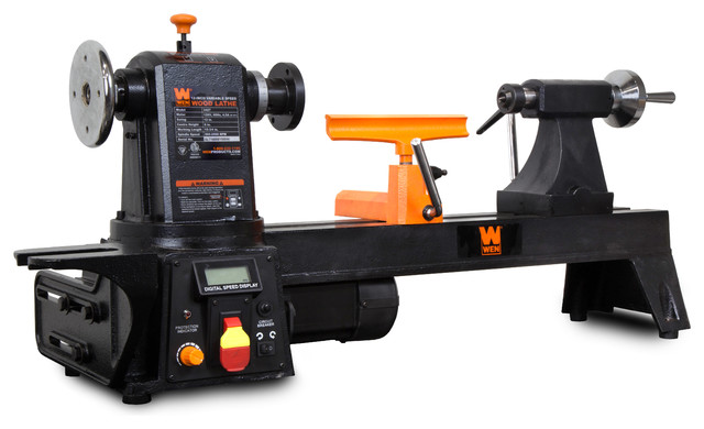 """12""""x15"""" Variable Speed Multi-Directional Wood Lathe"""