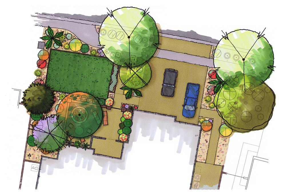 Frontyard Conceptual Plan