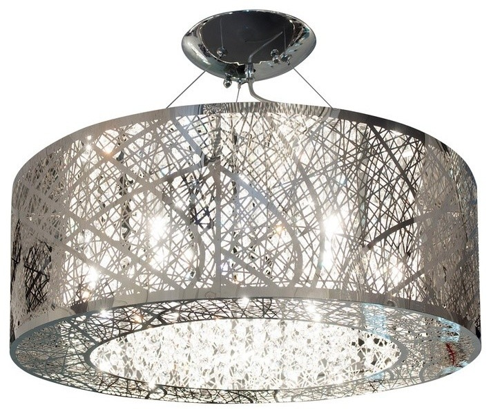 Finesse Decor Crystal Soiree Circular Chandelier