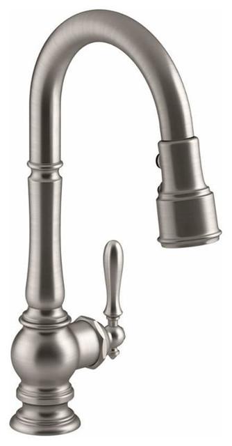 Kohler Artifacts Single-Hole Kitchen Sink Faucet, 16\