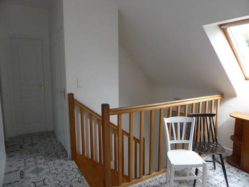 Choix de couleur escalier et couloir