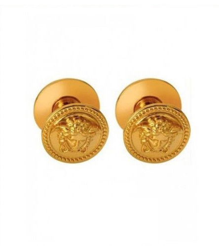 Versace Medusa Paired All Purpose Cabinet Knobs, 24K Gold Finish Victorian