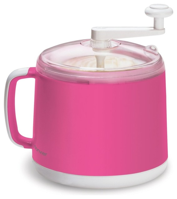 Cuisipro Donvier Ice Cream Maker Pink - Contemporary - Ice Cream Makers - by Cilantro The Cooks Shop