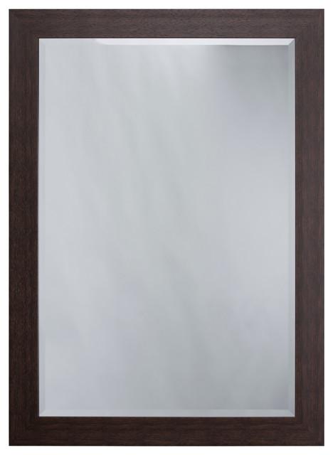 Mirror Frame Espresso - Contemporary - Wall Mirrors - by Yosemite ...