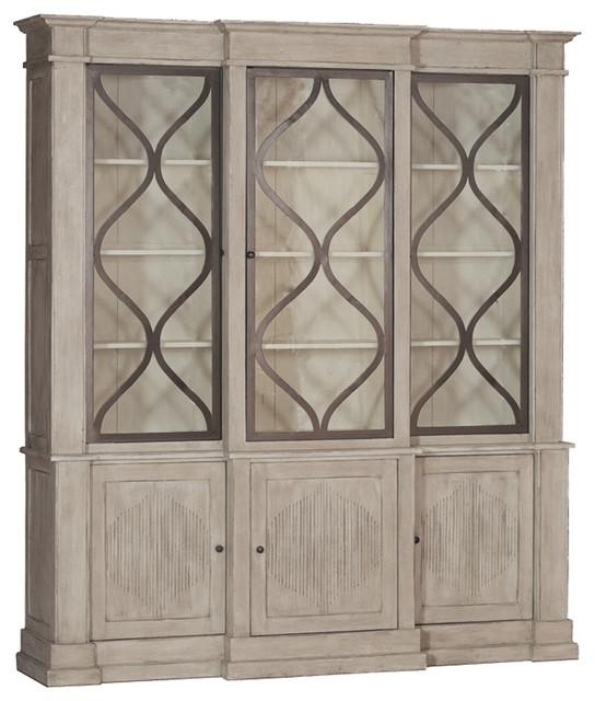Gabby Samantha Wood And Iron Storage Cabinet.