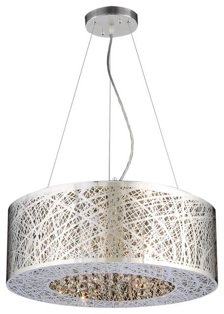 plc lighting nest light pendant in polished chrome  pendant, Lighting ideas
