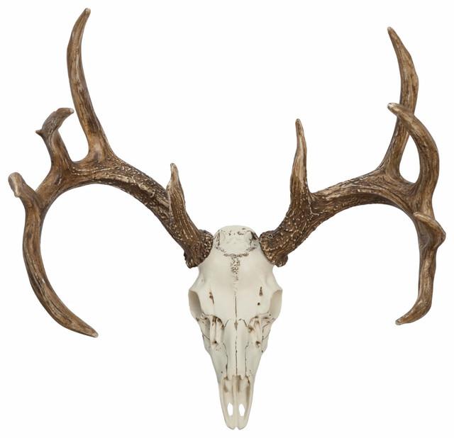Whitetail Deer European Mount.