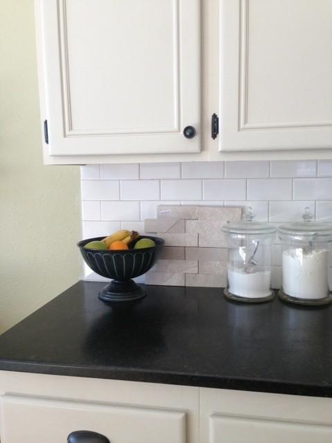 Kitchen Tiles Beige beige kitchen cabinets with white subway tile?? design do or don't?