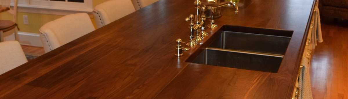 Custom Sapele Mahogany Wood Table In Mint Hill, NC