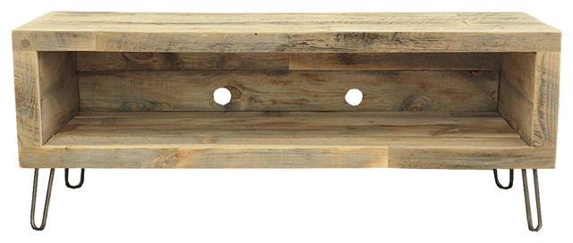 """Reclaimed Wood Media Console, 56""""."""