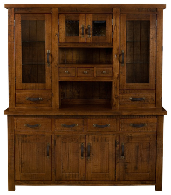 Outback Buffet and Hutch rustic-buffets-and-sideboards - Outback Buffet And Hutch - Rustic - Buffets And Sideboards - By