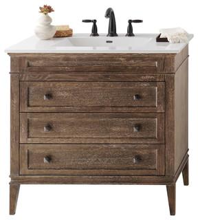 Ronbow Laurel Solid Wood 36 Quot Vanity Cabinet Base Vintage