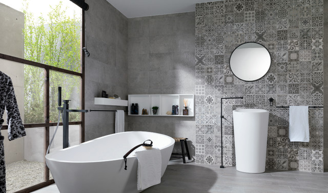 Almond series - Contemporary - Bathroom - New York - by ...