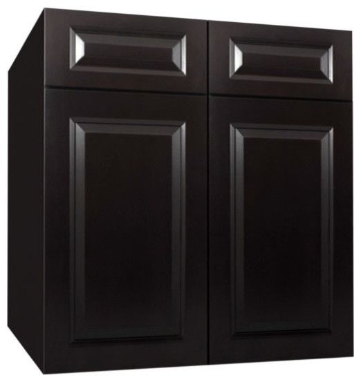 Gramercy Midnight Kitchen Base Cabinet-SB30B - Traditional - Kitchen Cabinetry - by Kabinet King ...