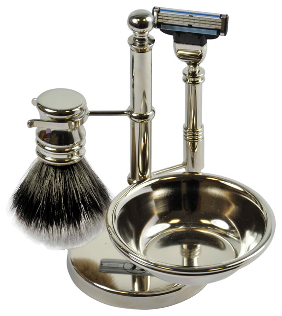 bathroom accessory sets kohls shaving set with soap bowl modern green accessories uk stainless steel