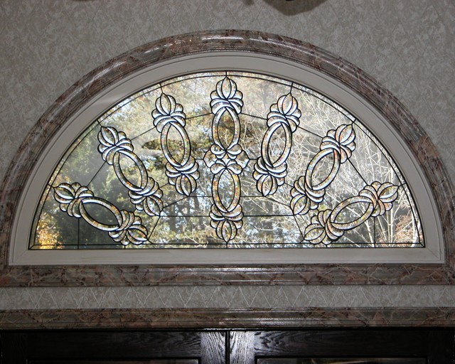 Beveled transom windows dc metro by decorative glass solutions