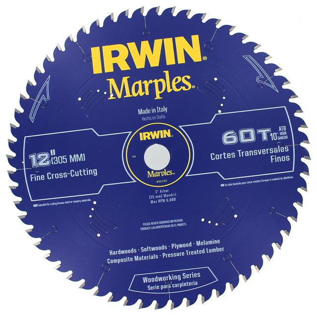 Irwin 1807383 12 Marples 60 Tooth Circular Saw Blade.