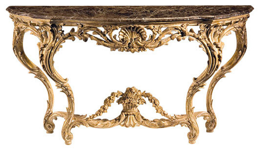 Louis Xv Carved Console Table