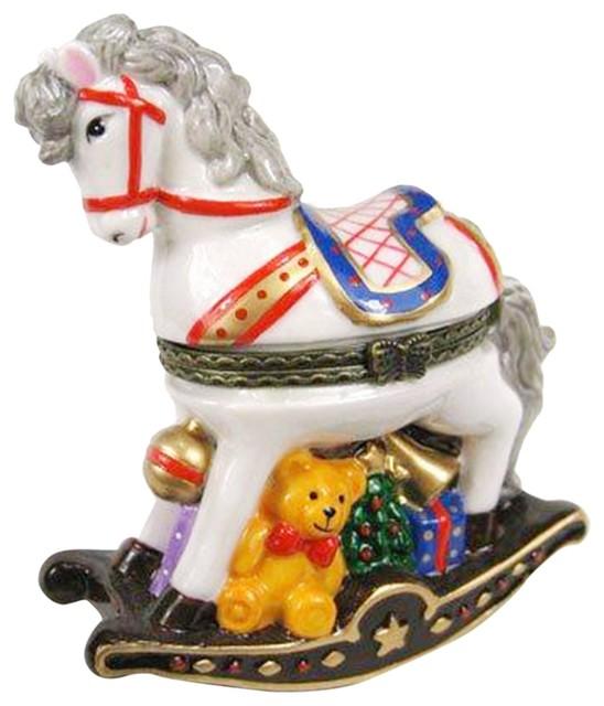 Art Gifts Happy Circus Clown Hat Hinged Trinket Box phb