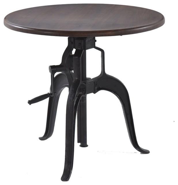 Table Hand Crank Iron Base