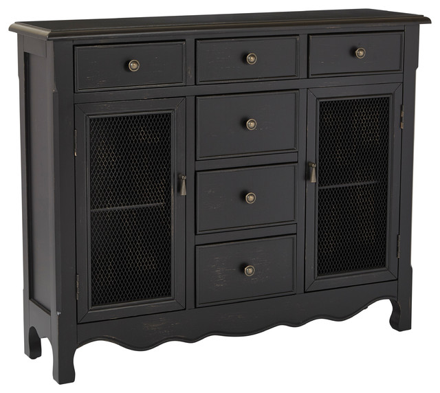 INSPIRED by Bassett Ashfield Storage Console - Console Tables   Houzz