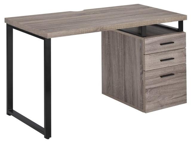 Coy Desk, Gray Oak