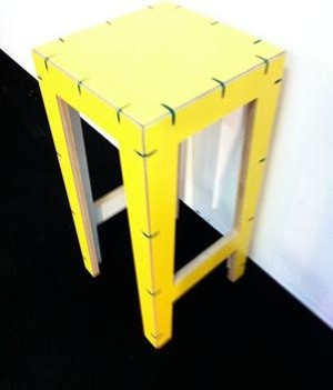Cable Tall Stool