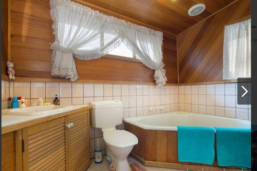 Would like to leave the cedar in my ensuite. Replace spa bath with bat