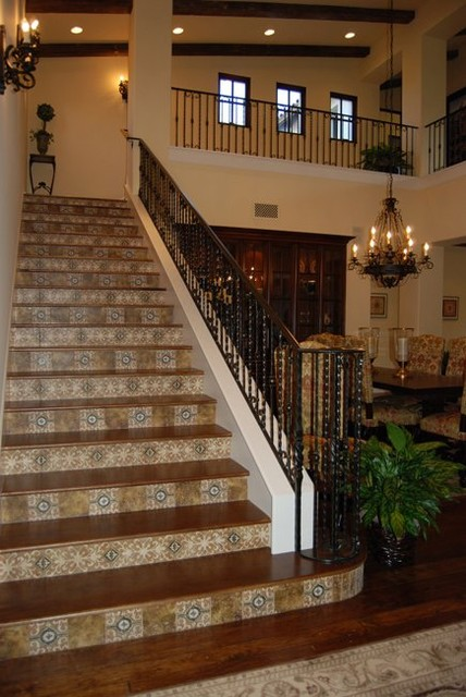 Stairs  Tuscan Style Projects Mediterranean