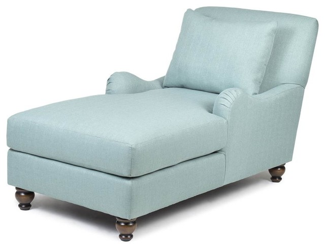 Chaise, Crawford Turquoise G1.