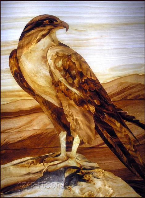 Eagle Marquetry Artwork Philadelphia By Czar Floors