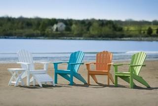 Amazing Seaside Casual Coastline Harbor View Adirondack Chair Ncnpc Chair Design For Home Ncnpcorg