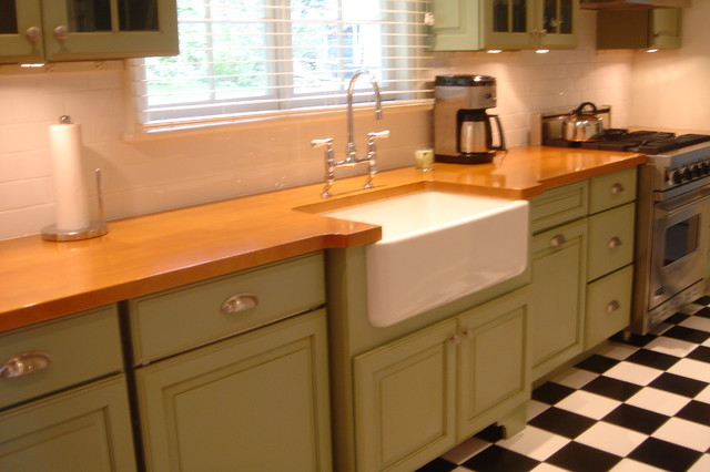dark green kitchen cabinets green cabinets classic black and white tiled floor new 14455