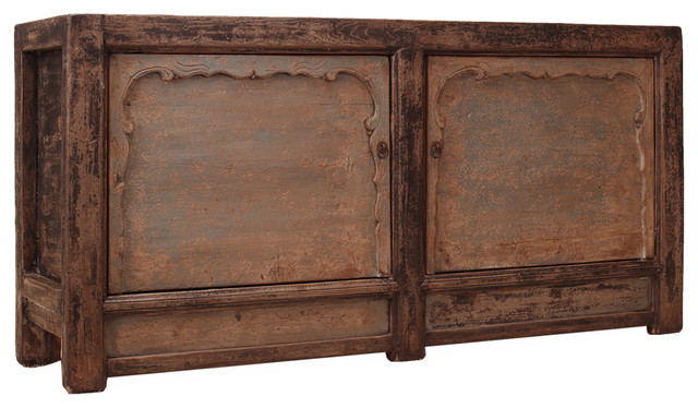 Eamon Cabinet W/2 Doors C.1910 - Rustic - Kitchen And Dining Furniture - by Autumn-Elle Design