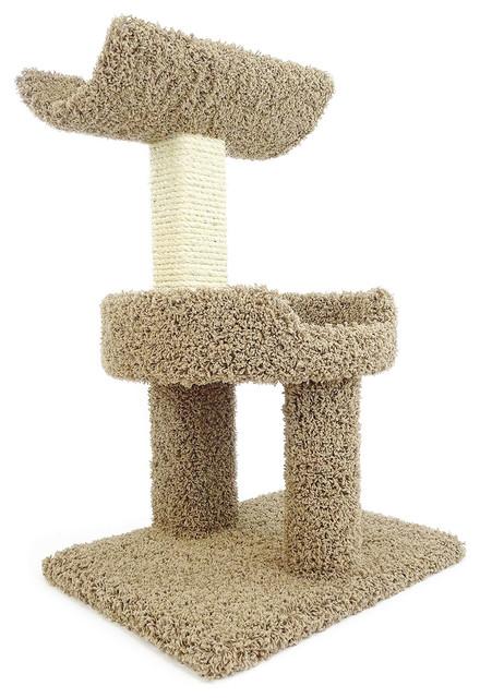 New Cat Condos Premier Window Perch Brown